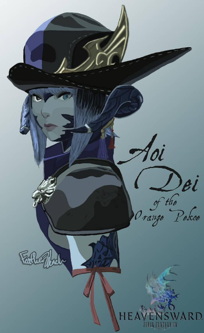 Aoi Dei from Final Fantasy 14ARR