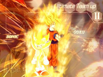 UT - Goku vs Sonic by ZeroExile