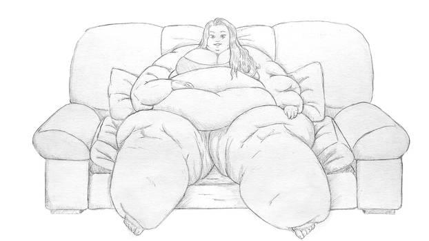Clementine's sofa