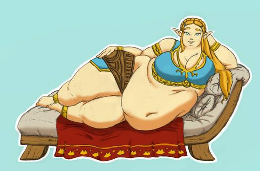 Princess Zelda - Colored