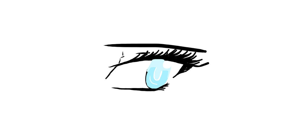 Eye (dont worry, its a doodle) by WolfJinx007