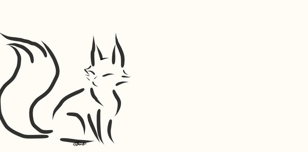 Fox Ink by WolfJinx007