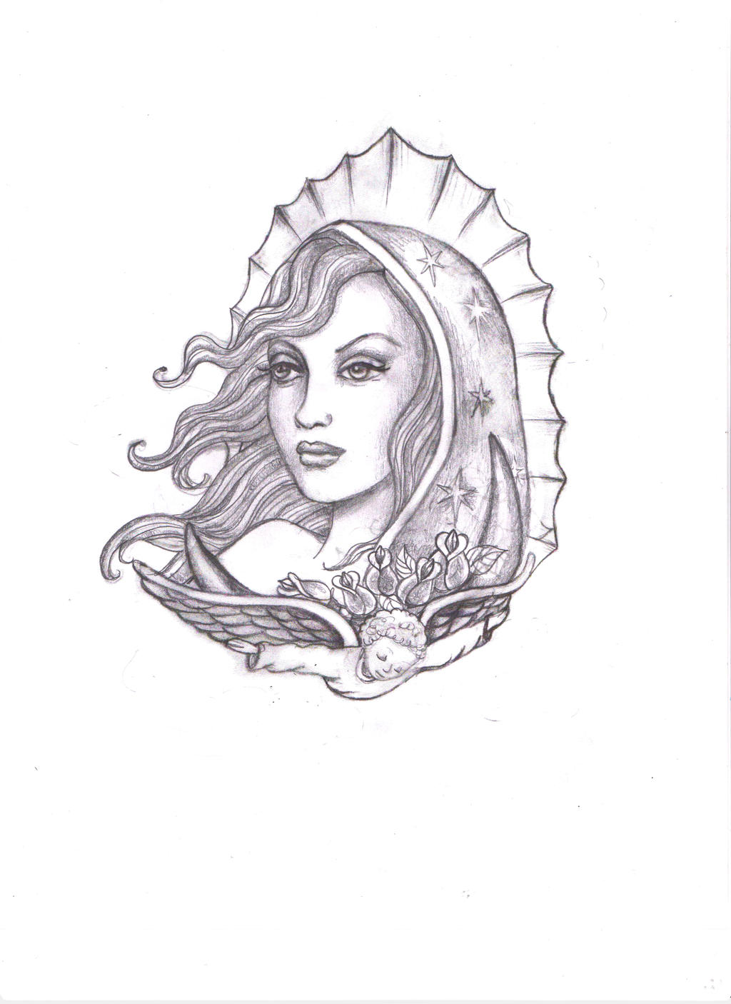maria virgen de guadalupe printables pictures to pin on pinterest