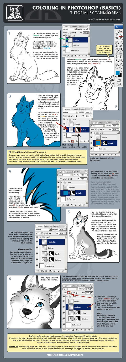Digital coloring basics by tanidareal on deviantart digital coloring basics by tanidareal baditri Images