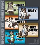Mood Badges - Hobbes Dawg