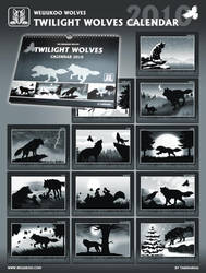 Twilight Wolves Calendar by TaniDaReal