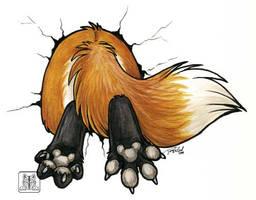 Stuck my ass by TaniDaReal