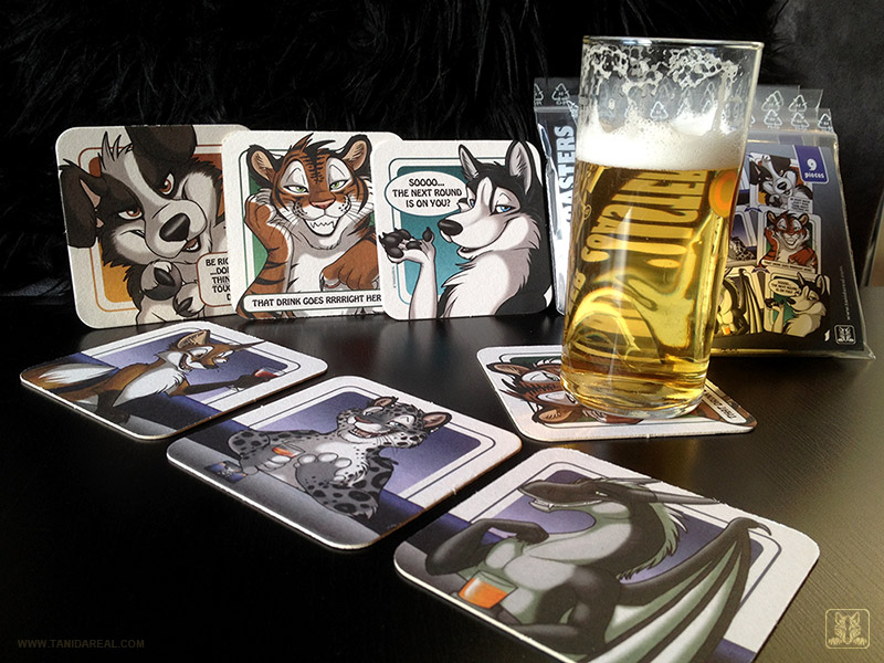 Beer Coasters - cheers by TaniDaReal