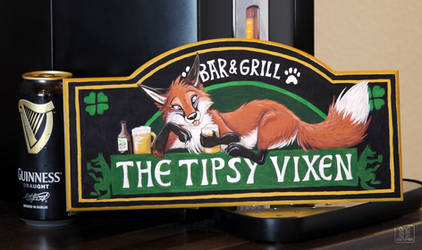 The Tipsy Vixen by TaniDaReal