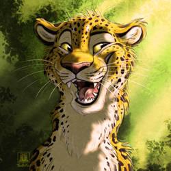 Leopard of Light