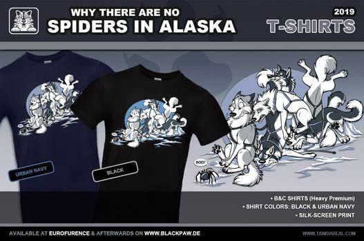 Spiders in Alaska Shirts