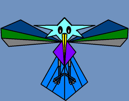 Star-headed birdie (requested)