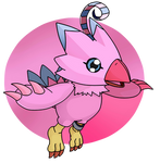 FanArt - Flying Birdie by KunYKA