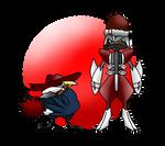 ArtTrade - A gangster and A duke by KunYKA