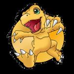 FanArt - Running Dino