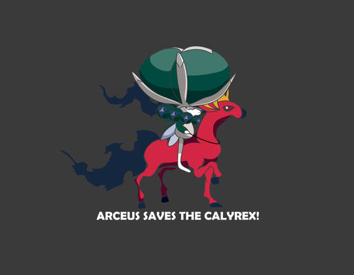 PokeArt - Arceus Save the Calyrex
