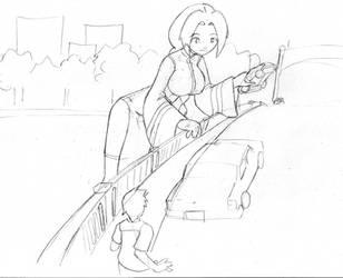GTS Uriko 3 :Commission: by Pensuke-kun