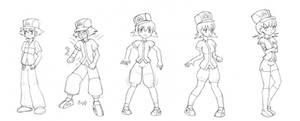 Ash to Whitney TG by Pensuke-kun