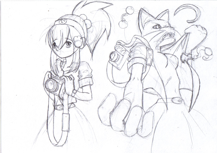 werecat transformation by Pensuke-kun