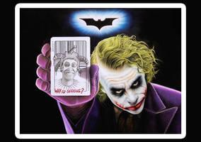 Joker final by mario-freire