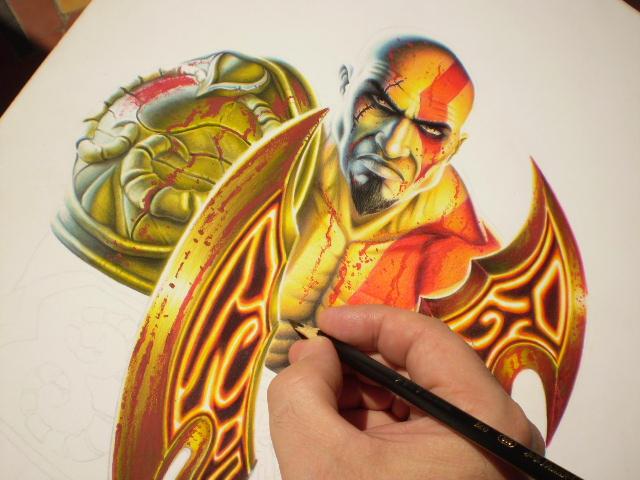 Kratos Preview By Mario Freire On Deviantart