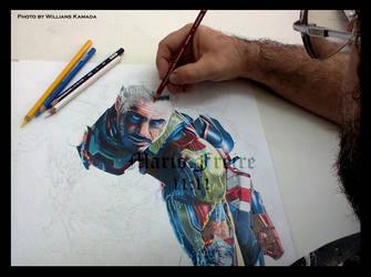 Iron Man - Wip I by mario-freire