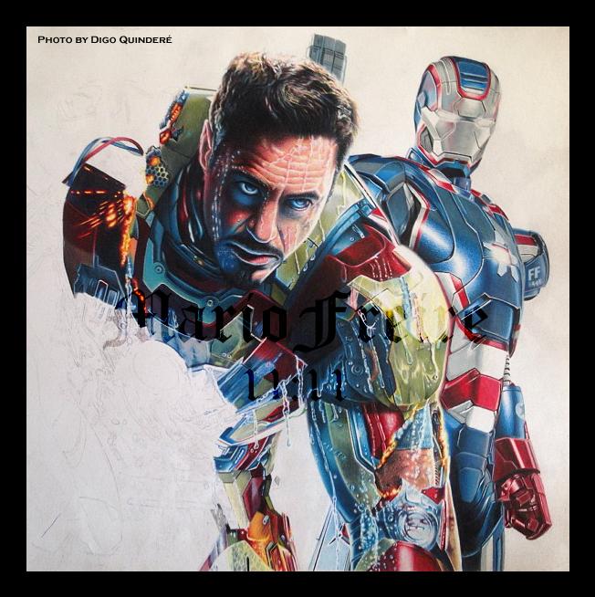 Iron Man Wip II by mario-freire