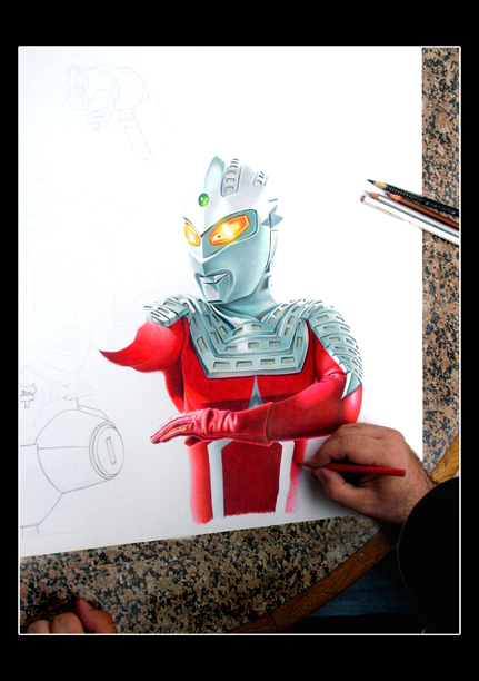 Ultraseven preview 1 by mario-freire