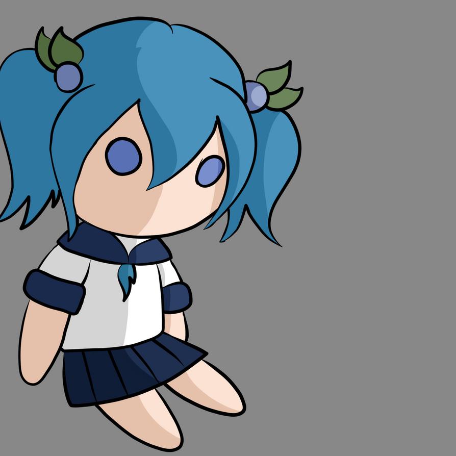 Maemi Miyo Plushie by StarDust176