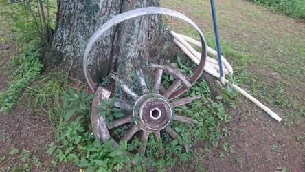 Ox Wagon Wheel