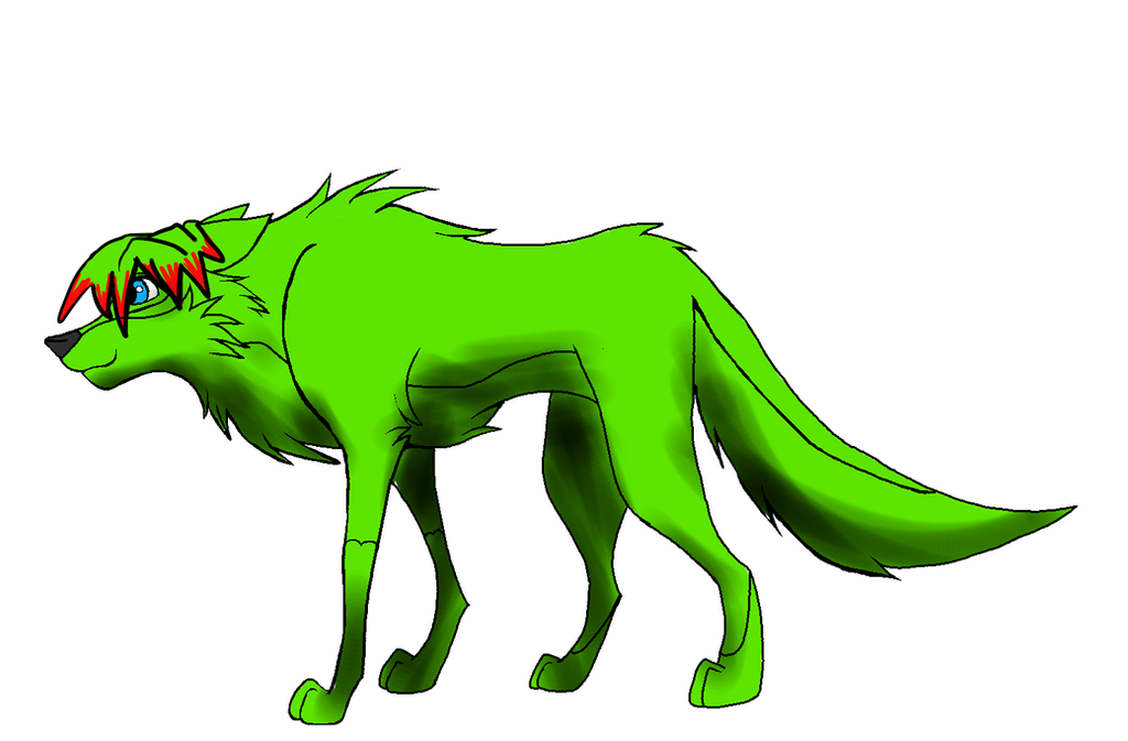 Sparkle Dog by demonlector