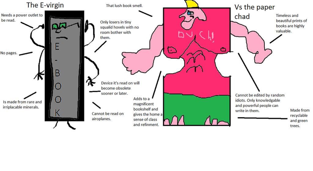 E-book virgin vs chad book by william023