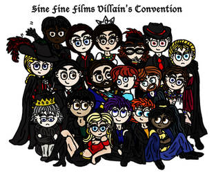 Villians' Convention by Illishar