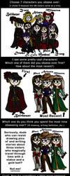 SFF Character Meme Part 1 by Illishar