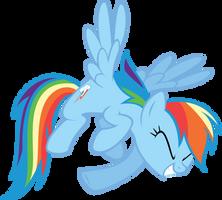 Rainbow Dash by Shnakes