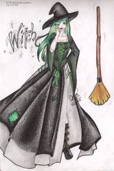Witch by livingdoll