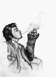 smokin' by livingdoll