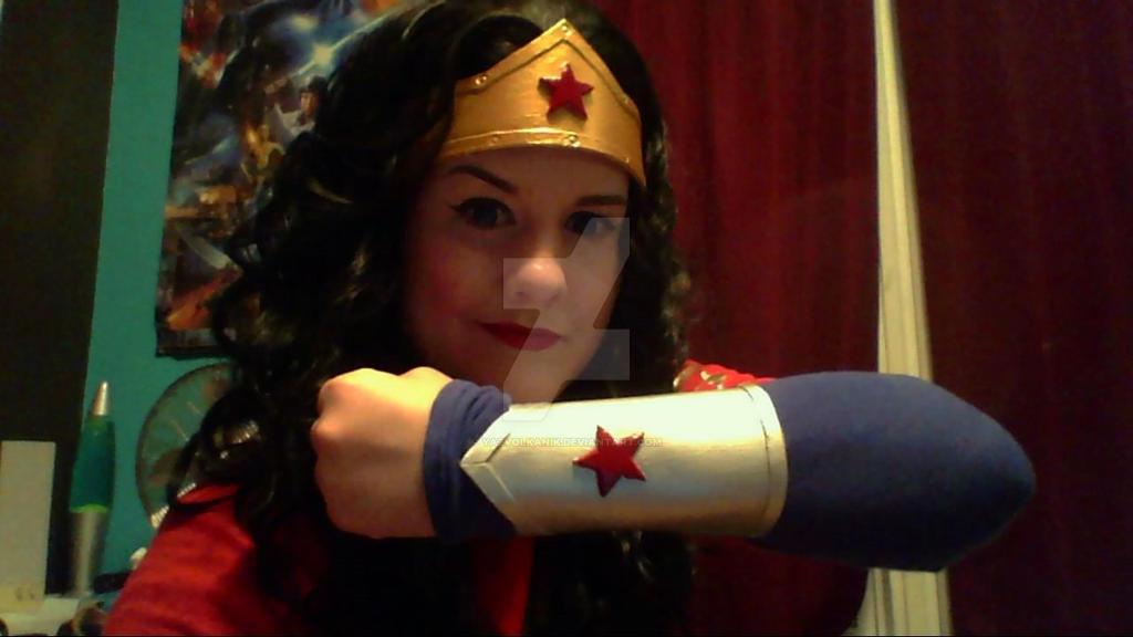 Wonder Woman in progress by YazVolKanik