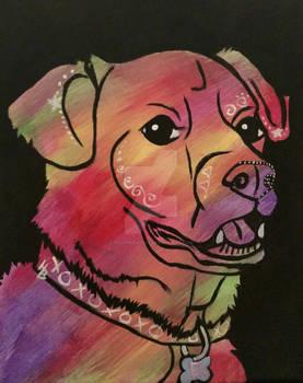 Ellie - Pup!Art