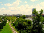 Riverfront Park and the Cumberland River