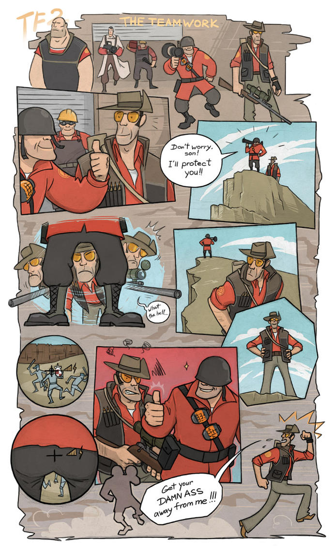 TF2 - The Teamwork by protvscar