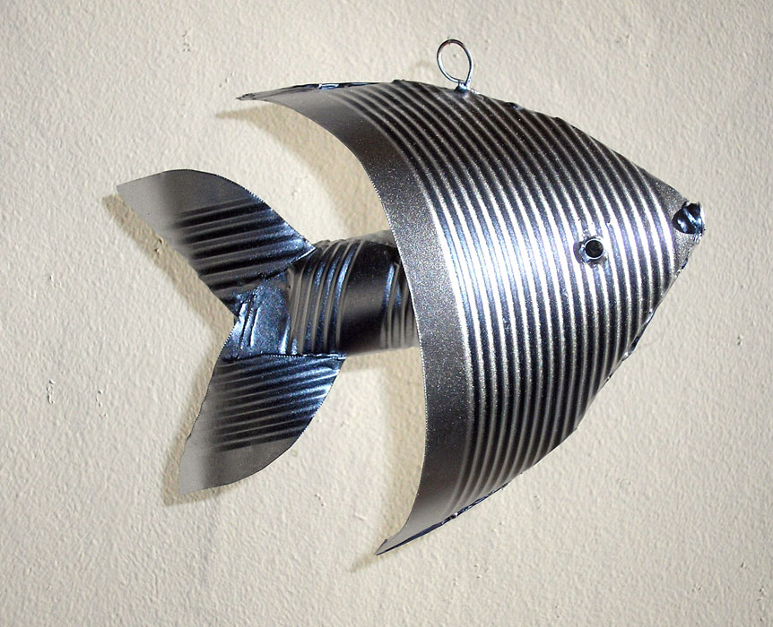 Tin Angel Fish by gibsart