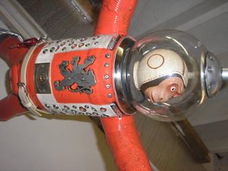 Space Monkey detail
