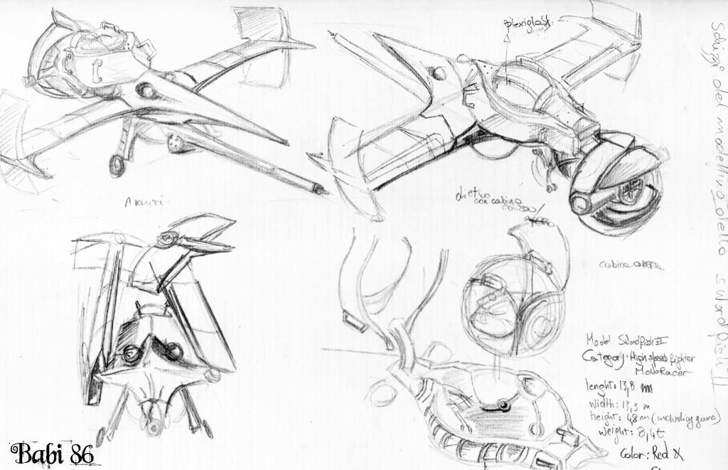 Cowboy Bebop Swordfish Concept Art