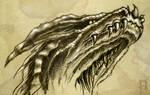 dragon head study II