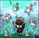 'Look, bunnies :3' by theDeathspell