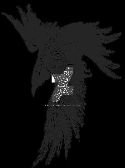Raven Rune tattoo
