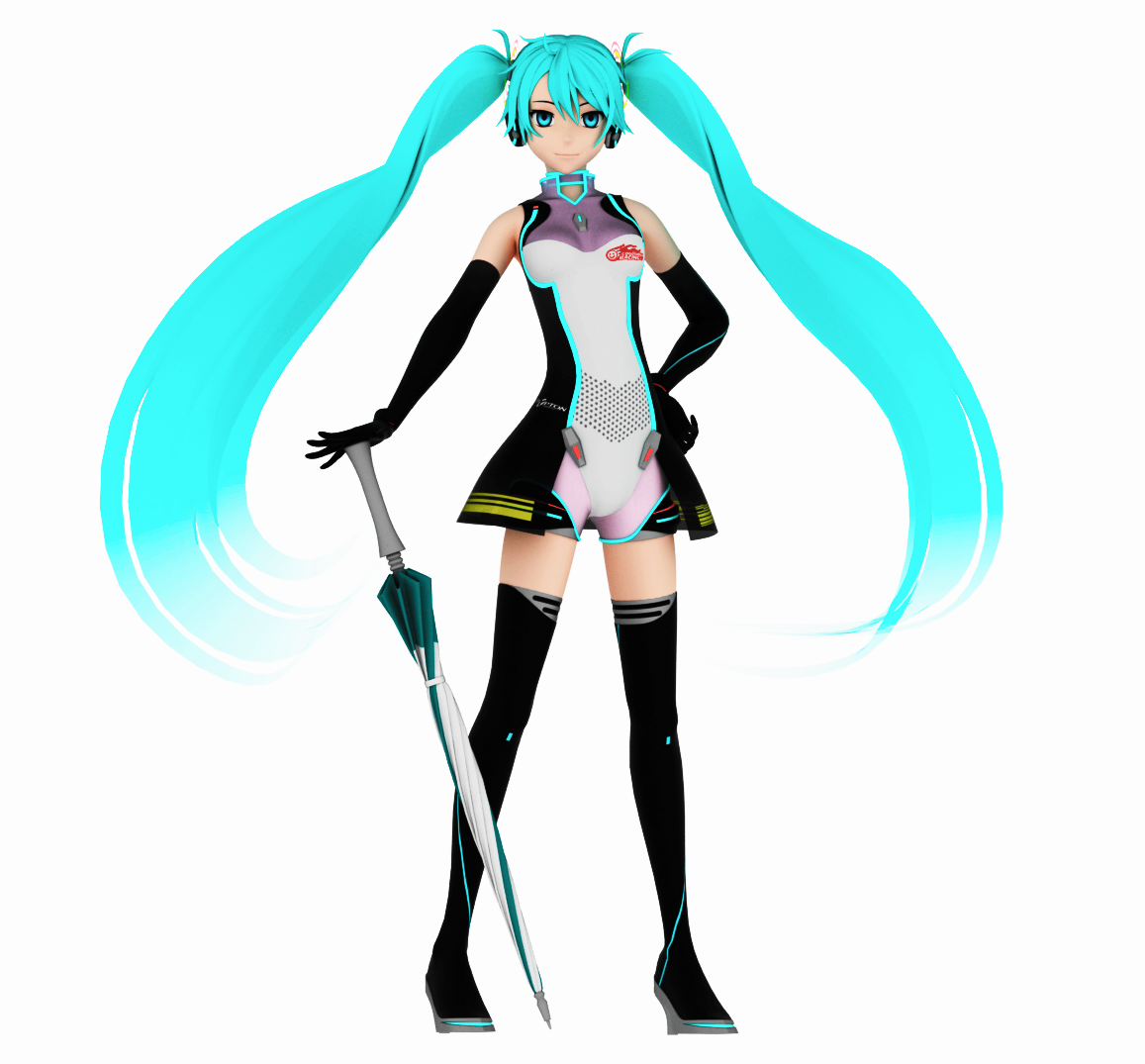 Racing Miku 2011 by JuliaDS