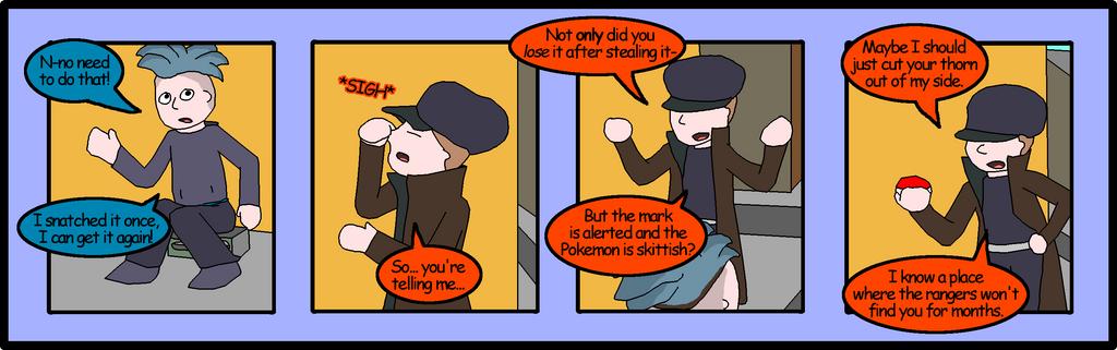 Rachael in Gameland: Pokemon Chapter 2 Page 04 by mattwandcow