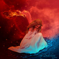 Fallen angel. by dudeckaya